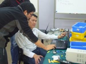 Mr. Renato discusses BBM development with Thu.