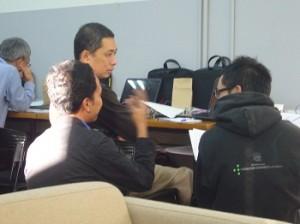 Mr.Fujii advises teamC.
