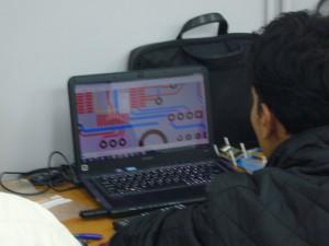 Drawing design of PCB